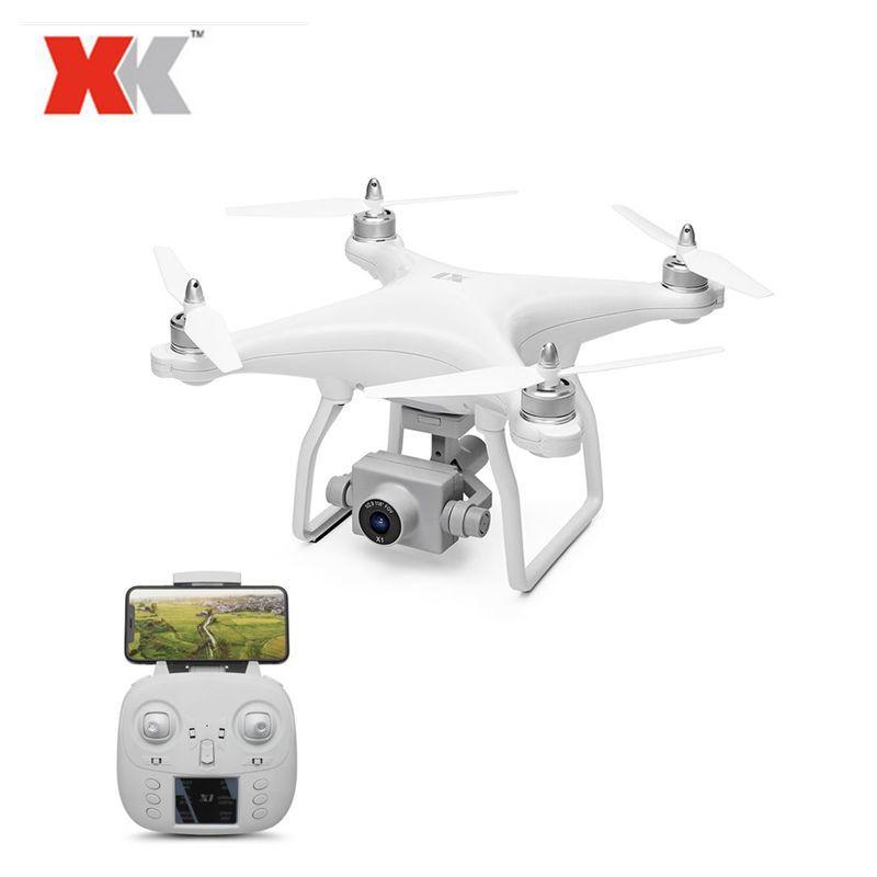 XK X1 5G WIFI GPS FPV Zangão com Câmera HD 1080 P/2-eixo Cardan Coreless Altitude modo de espera RC Quadcopter RTF