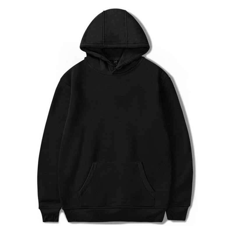 Fashion Brand Mens Hoodies 2019 Spring Autumn Male Casual Hoodies Sweatshirts Unisex Solid Color Hoodies Sweatshirt Tops