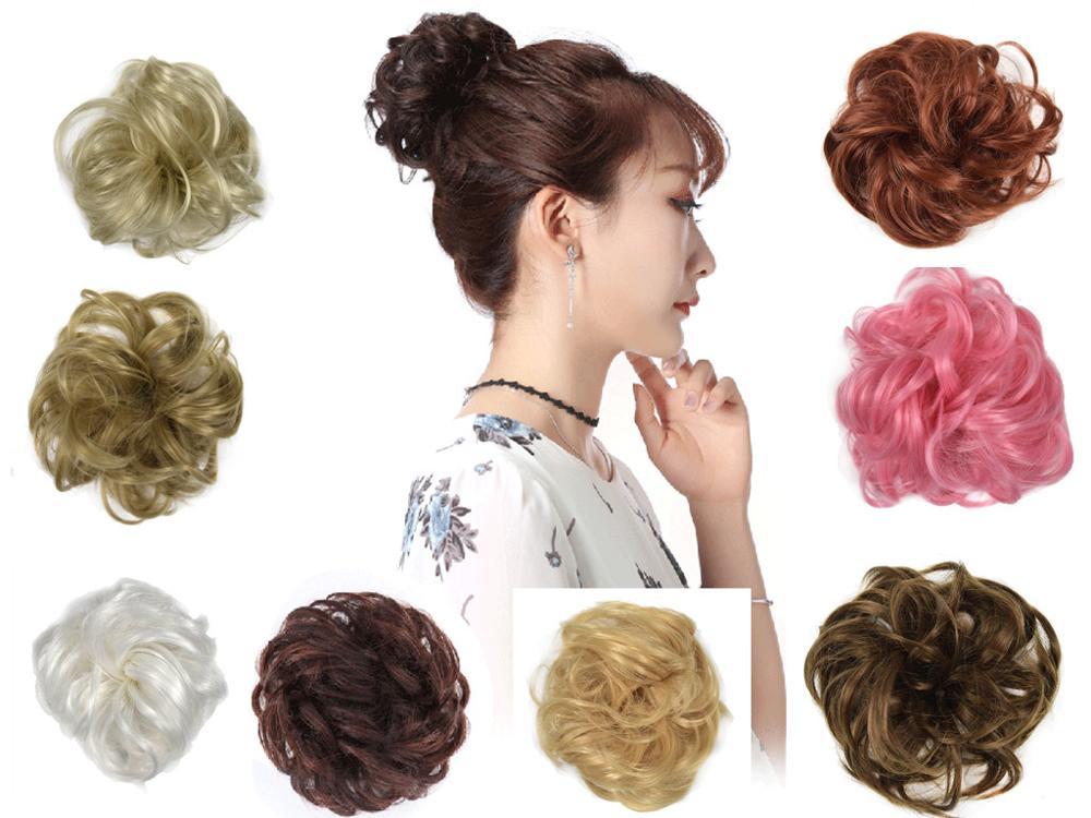 New Fashion Hair Wear Easy-To-Wear Hair Circle Women Girls Hairbands Elastics Scrunchies Hair Accessories