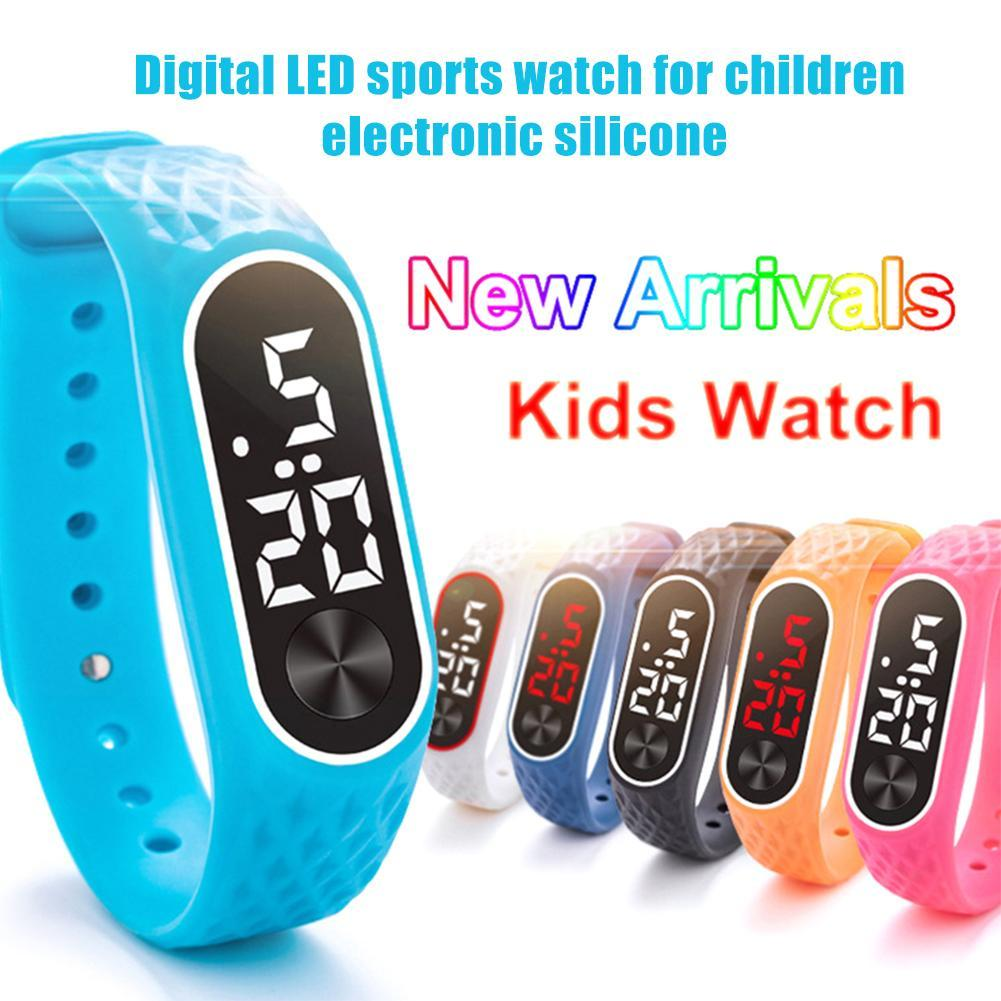 Fashion Sport Watch Student kids Children Watches For Girls Boys Wrist Watch LED Digital Electronic