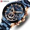 CURREN Top marque de luxe hommes montre affaires hommes montres Quartz étanche montres décontractées Relogio Masculino mâle horloge