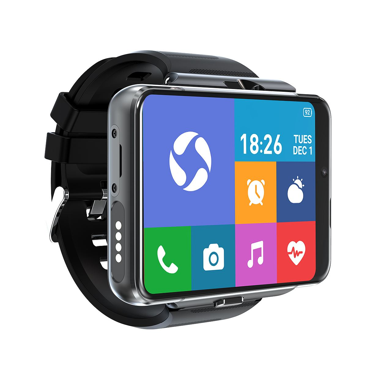 Get LOKMAT APPLLP Max Smart Watch 4GB+64GB 2.88inch Detachable Big Screen 5.0MP+13MP Dual Camera WIFI GPS Android 9.0 4G Watch Phone