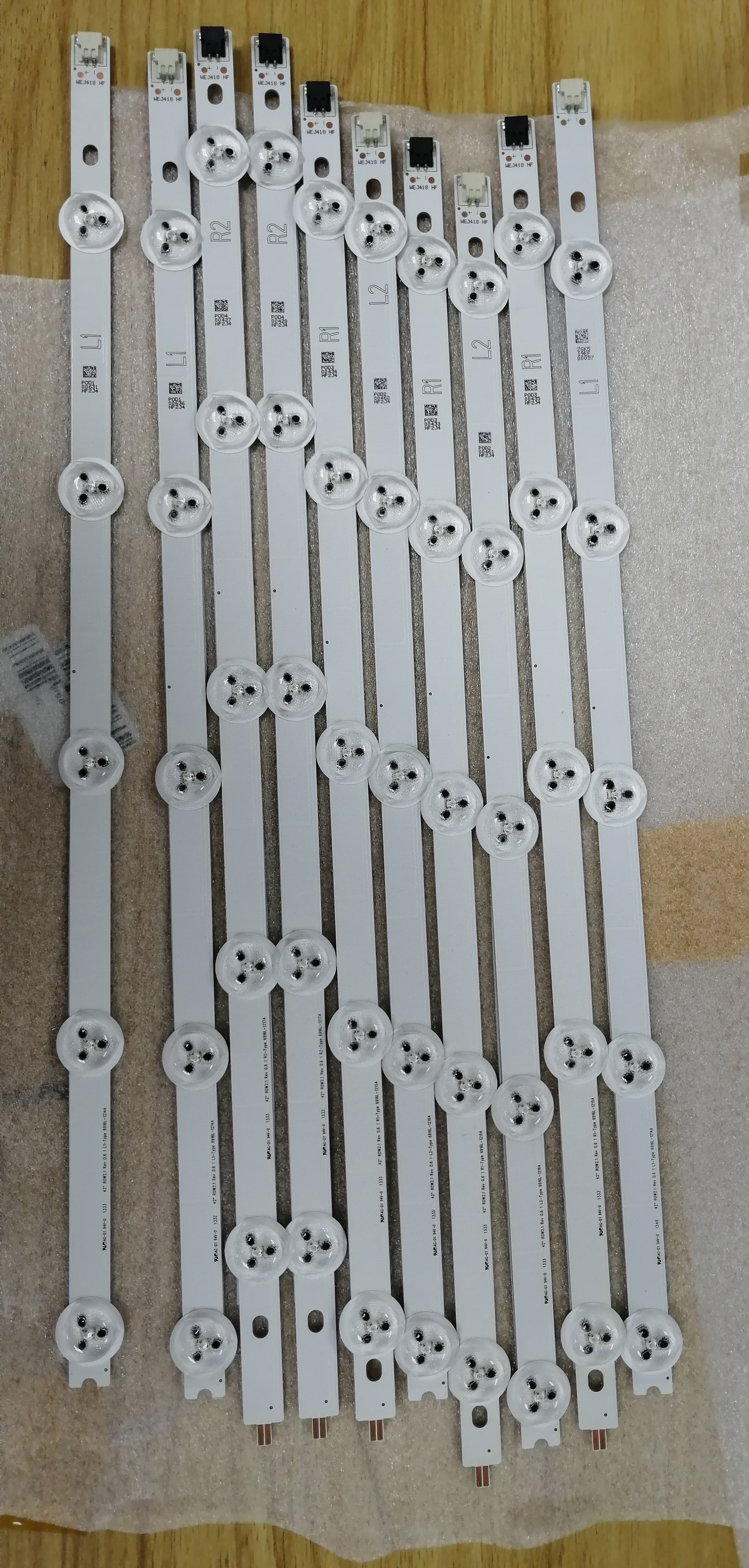 10 Uds nuevo original de circuitos 6916L-1338A 6916L-1339A 6916L-1340A 6916L-1341A 42 GLB