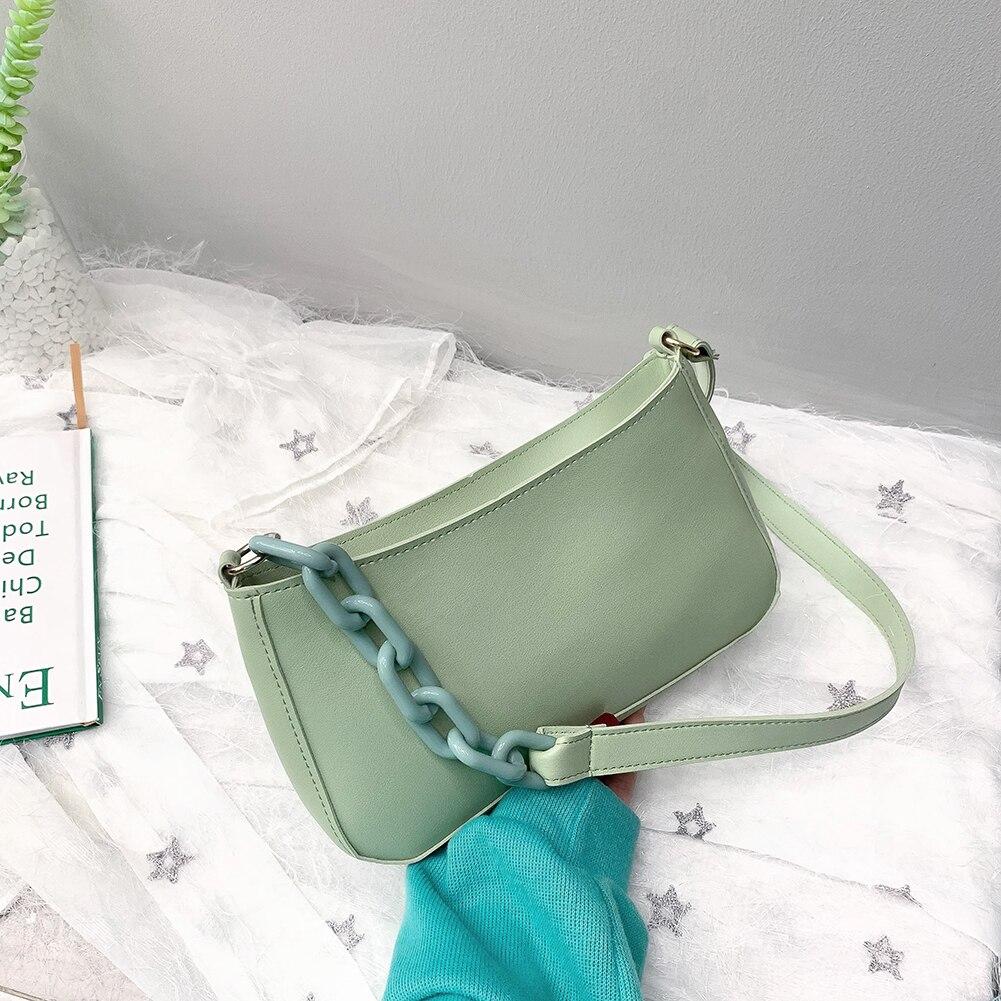 Bolso de mano de noche de moda, bolso de mano informal de cuero PU sólido, bolso de hombro, bolsos de compras con asa superior, bolsos de compras para mujer