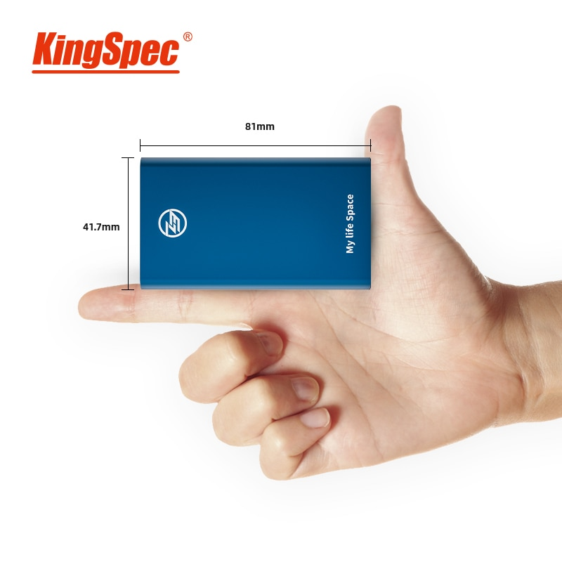 KingSpec hd external ssd 120GB 240GB 500GB HDD Portable SSD Type c USB 3.1 External Hard Disk USB 3.1 for laptop desktop 1tb hdd