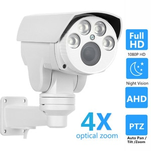 OwlCat High Resolution 2MP 5MP Waterproof Outdoor AHDH PTZ Bullet AHD Camera 4X 10X Zoom Auto Focus Analog Security CCTV Camera