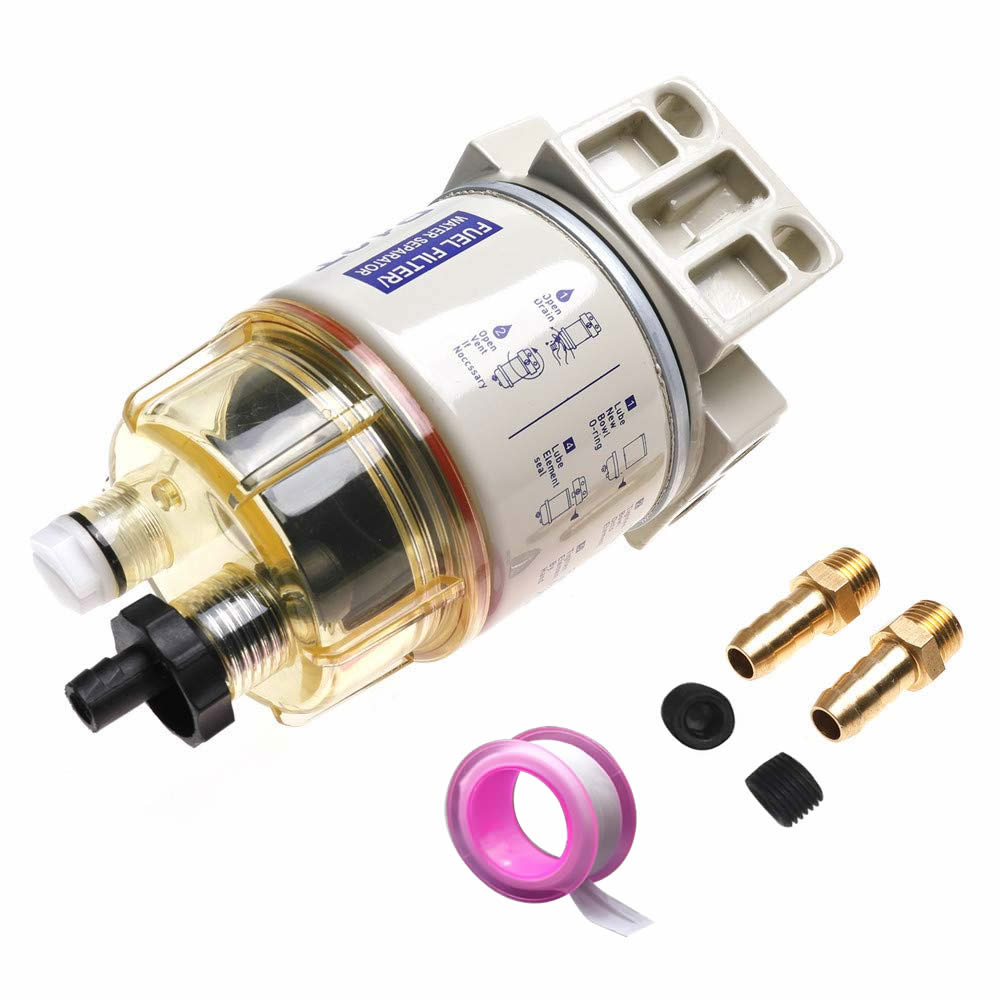 محرك مرشح فاصل الوقود/الماء R12T لـ Racor 140R 120At S3240 Npt Zg1/4-19 ، قطع غيار السيارات ، مرشح كومبو كامل