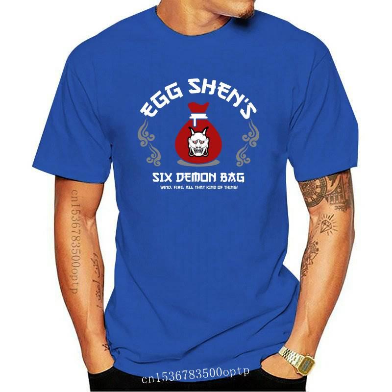 New Men Tshirt Egg Shen&#39S Six Demon Bag Big Trouble In Little China T Shirt Women T-Shirt Tees Top