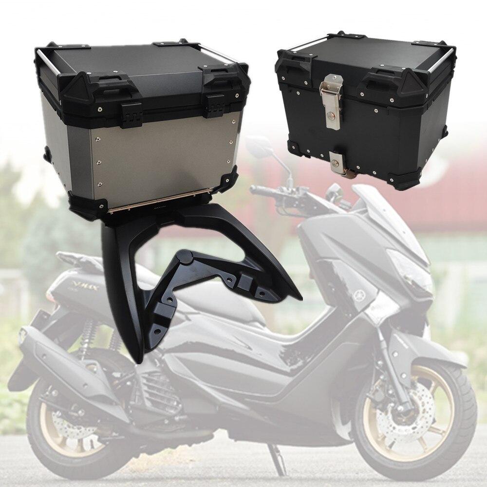 ل ياماها NMAX 125 155 NMAX155 NMAX125 2016 2017 2018 صندوق الأمتعة الخلفي الذيل صندوق الجذع موتو 45L 55L 65L اكسسوارات الدراجات النارية