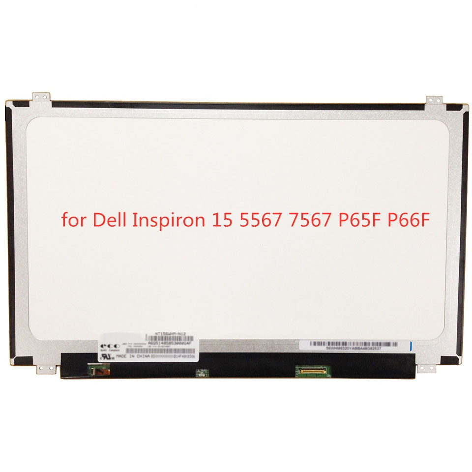 "30 pin 15,6 ""IPS pantalla para Dell Inspiron 5567 15 7567 P65F P66F FHD 1920x1080 matriz 7000 Gaming portátil pantalla LED de Replacem"