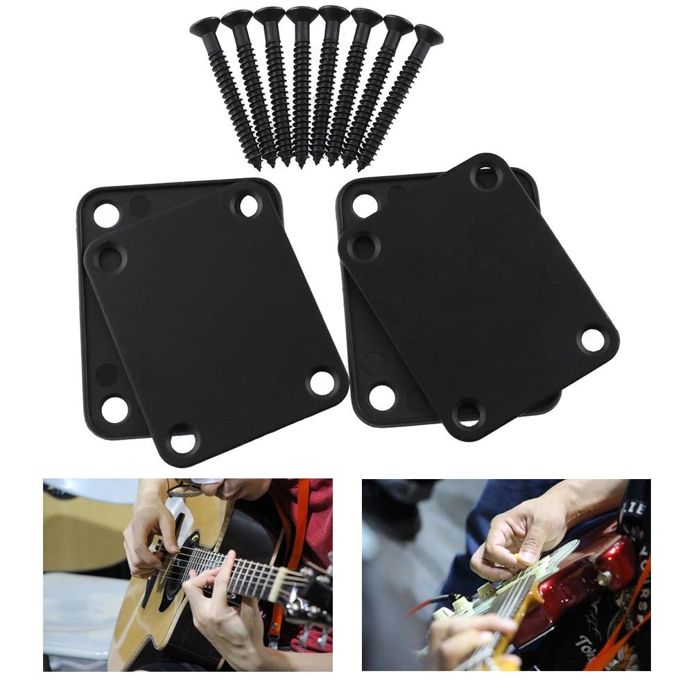 Placa de cuello guitarra ST, placa de mástil de guitarra eléctrica, placa...