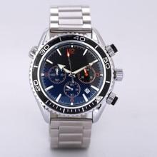 Hommes chauds noir luxe digite S montre Rlo dz Auto Date semaine affichage lumineux plongeur montres en acier inoxydable poignet homme mâle horloge
