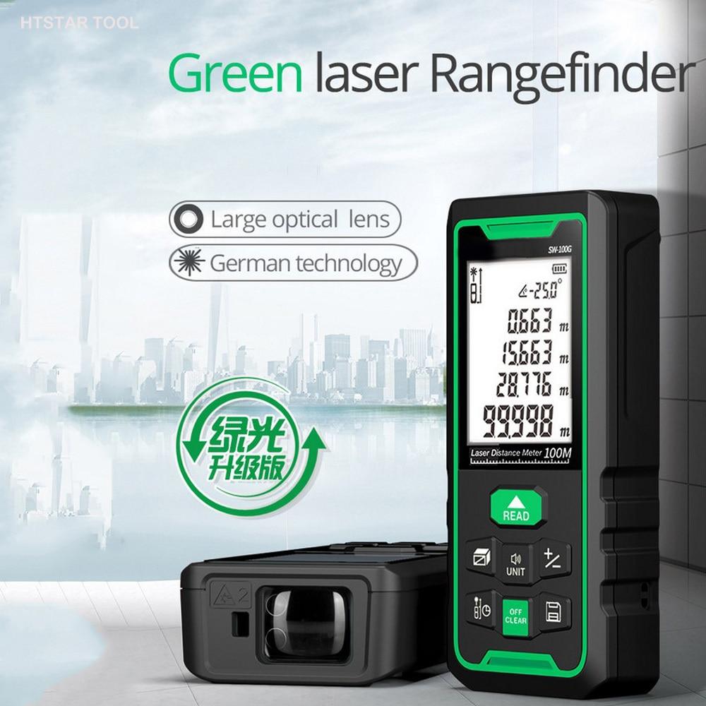 Telémetro láser verde con Sensor de ángulo electrónico, medidor de distancia, telémetro...