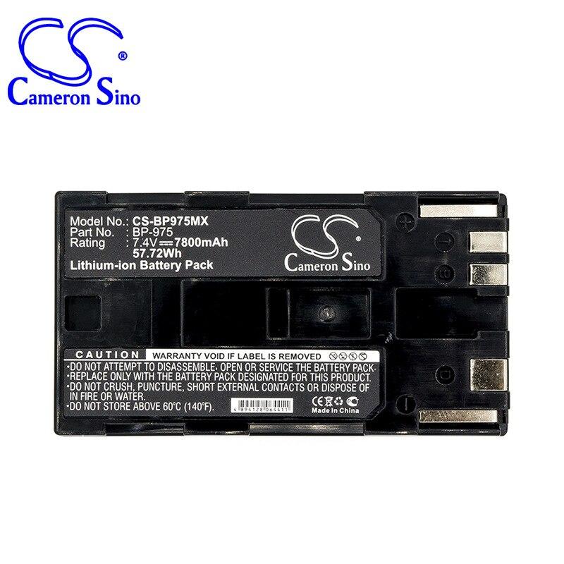 CameronSino para CANON GL2 XF100 XF105 XF300 XF305 A1S A1 XH XH XH G1 XL H1 XL H1A XL1 XL1S XL2 XM2 BP-975 bateria