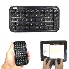 Negro Ultra Slim Mini Bluetooth 3,0 teclado para iPhone 7 Plus Samsung S7 / PS3 / PC / PDA PUO88