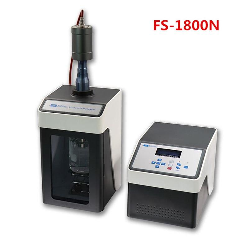 1800 واط بالموجات فوق الصوتية الخالط Sonicator المعالج بالموجات فوق الصوتية خلية ديسروبتور خلاط CE ISO 20 كيلو هرتز 50 مللي-3000 مللي FS-1800N