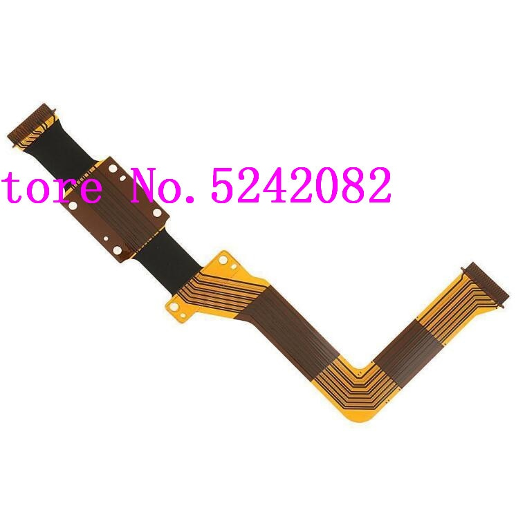 NOVO LCD Flex Cable Para JVC GC-P100 GC-PX100 P100 PX100 BAC Vídeo Repair Camera Parte