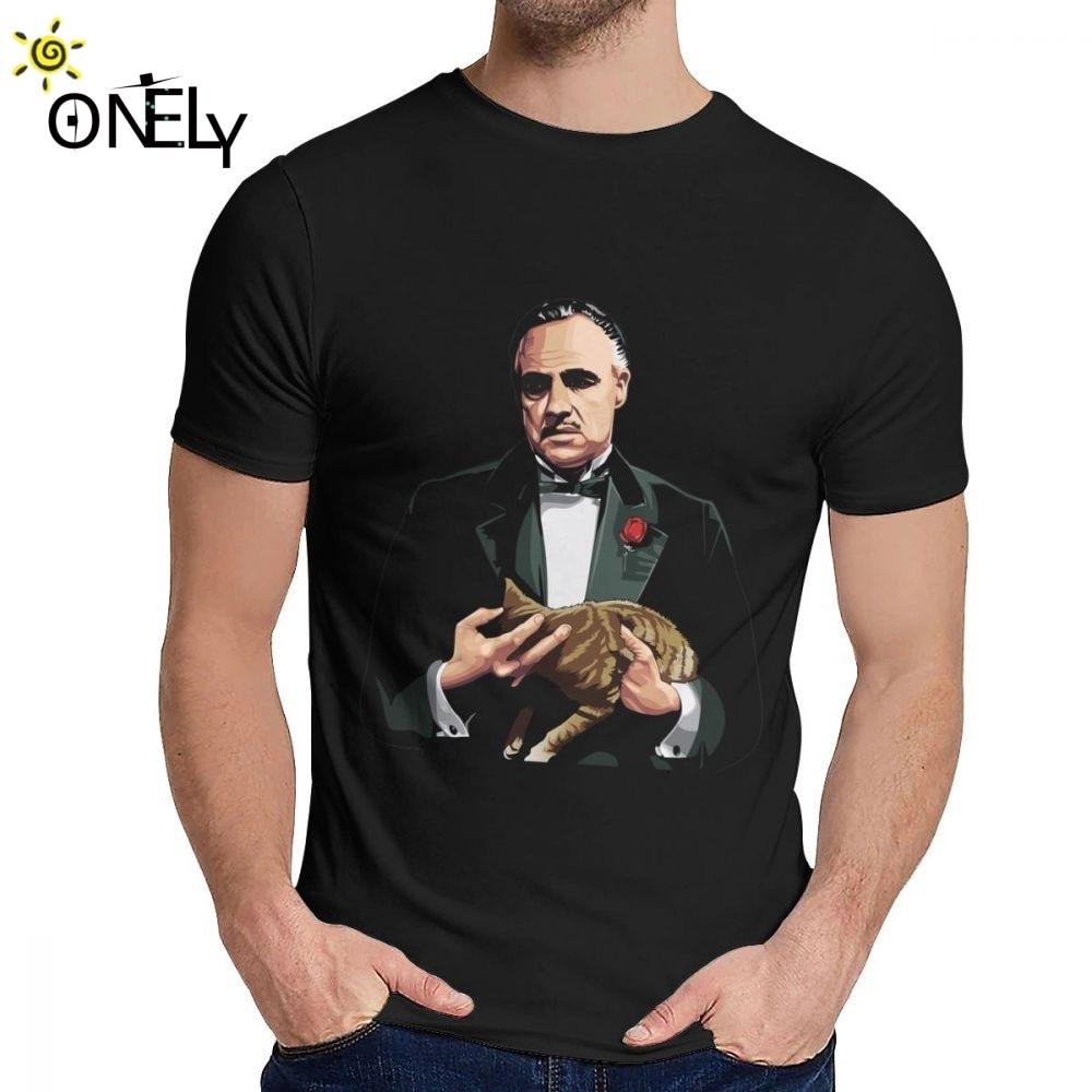 Camiseta del gran padrino de la película de Michael Corleone para hombre,...