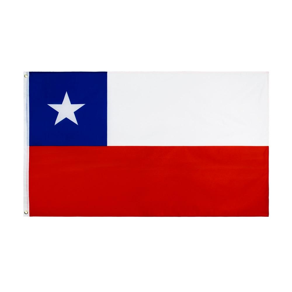 Flaglink 3x5fts 90*150cm chl cl chile bandera