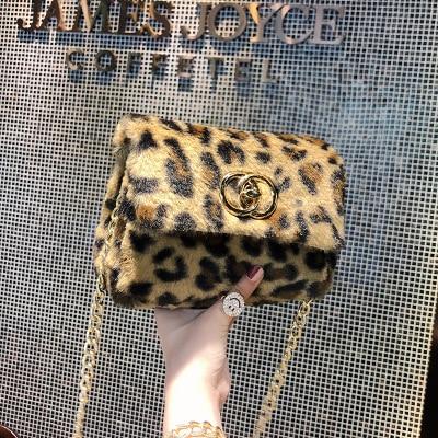 Crossbody Bags For Women Vintage Leopard Print Messenger Bags Women Fashion Leather Handbags Small Shoulder Bags sac femme 2019