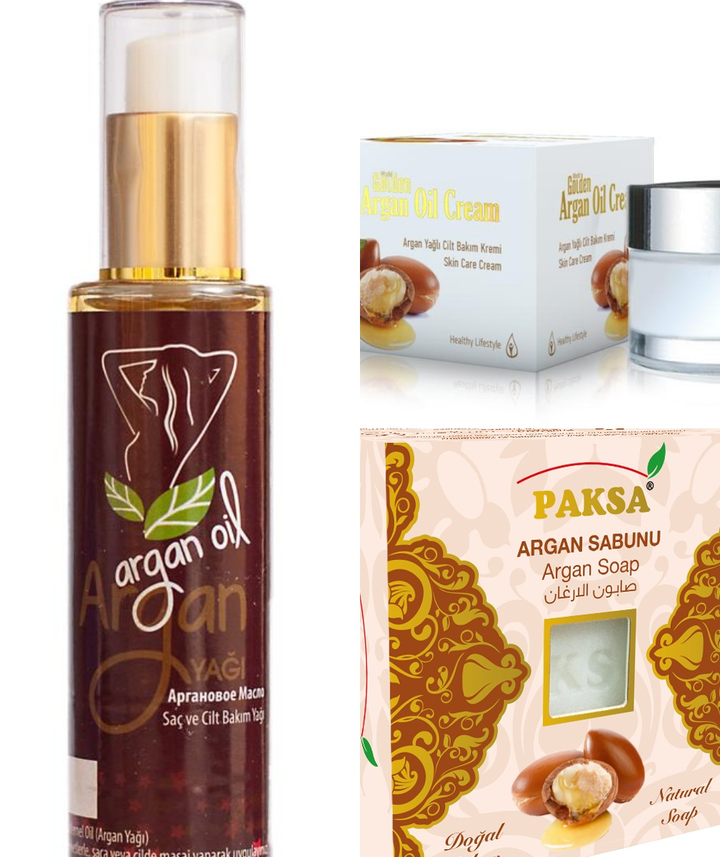 ARGAN CREAM OIL AND SOAP TRIPLE SERIES,Slimming lose weight,skin care products,Whitenin, skin care,g cream,SOAP,hair care oil,
