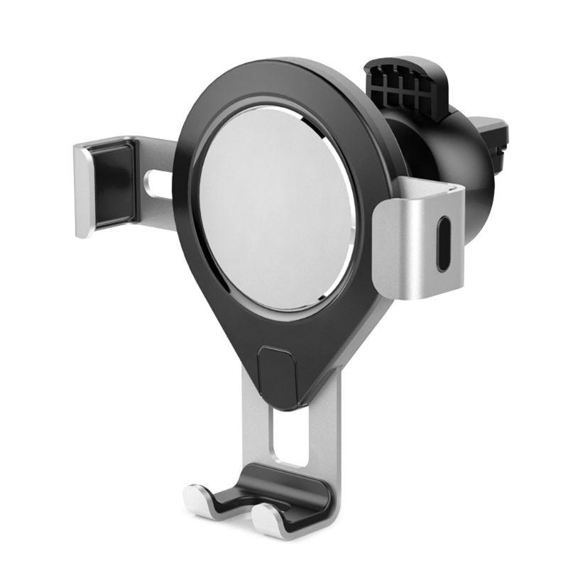 Universal Metal Gravity Navigation Car Phone Holder Air Vent Cellphone Mount Automatic Sensor Stand Bracket Support