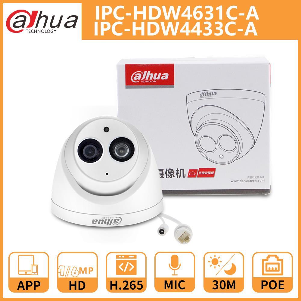 DH Dahua cámara IP 4MP 6MP IPC-HDW4631C-A IPC-HDW4433C-A cámara domo CCTV con...