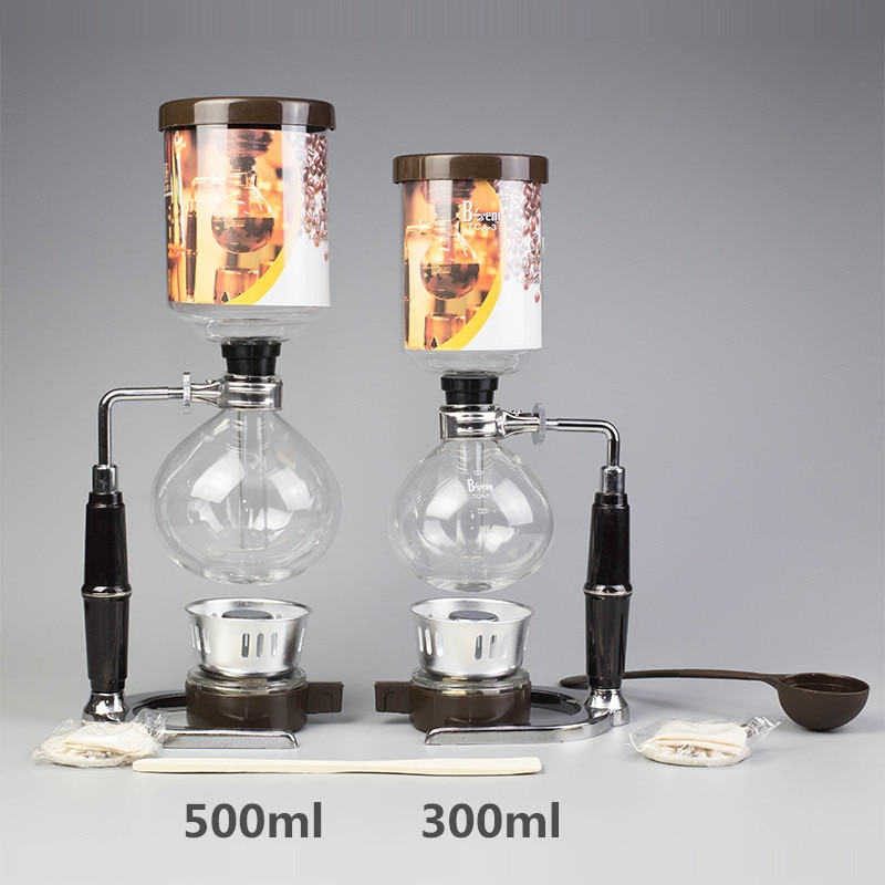 Japanese Style Syphon Coffee Maker coffee machine filter Siphon Pots cafe Kettle...
