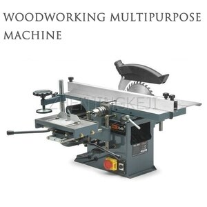 220V/1.5KW Woodworking Planer Multipurpose Machine Tools Desktop Table Saw Chainsaw Electric Planer Small Woodworking Equipment
