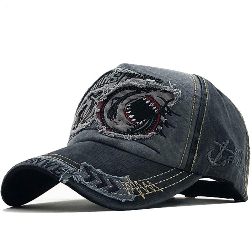 New Cotton Men baseball cap for women snapback hat Shark embroidery bone caps gorras casual casquette men hats