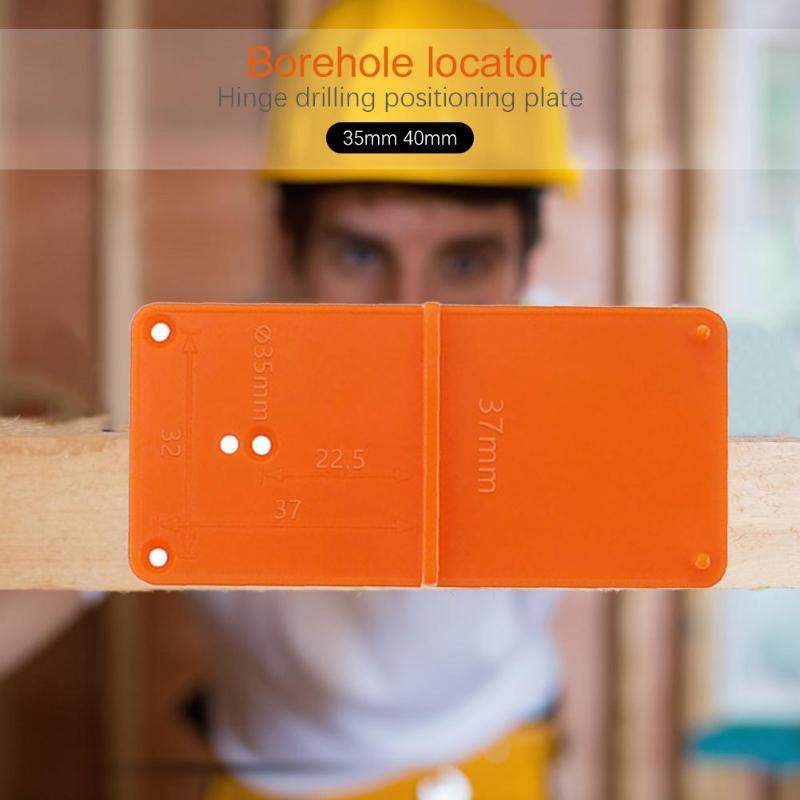 Cerniera per punzonatura per falegnameria da 35 / 40mm, modello per - Strumenti di misura - Fotografia 6