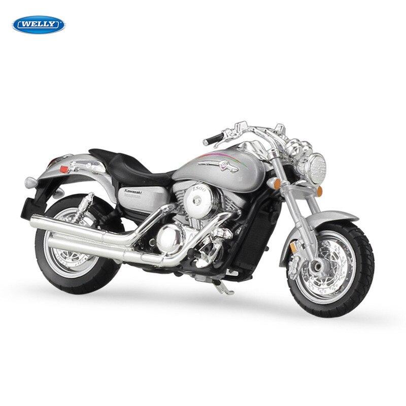 WELLY 118 Yamaha YP240DX Aleación de modelo de motocicleta fundido juguete para niños Regalo de Cumpleaños colección de Juguetes