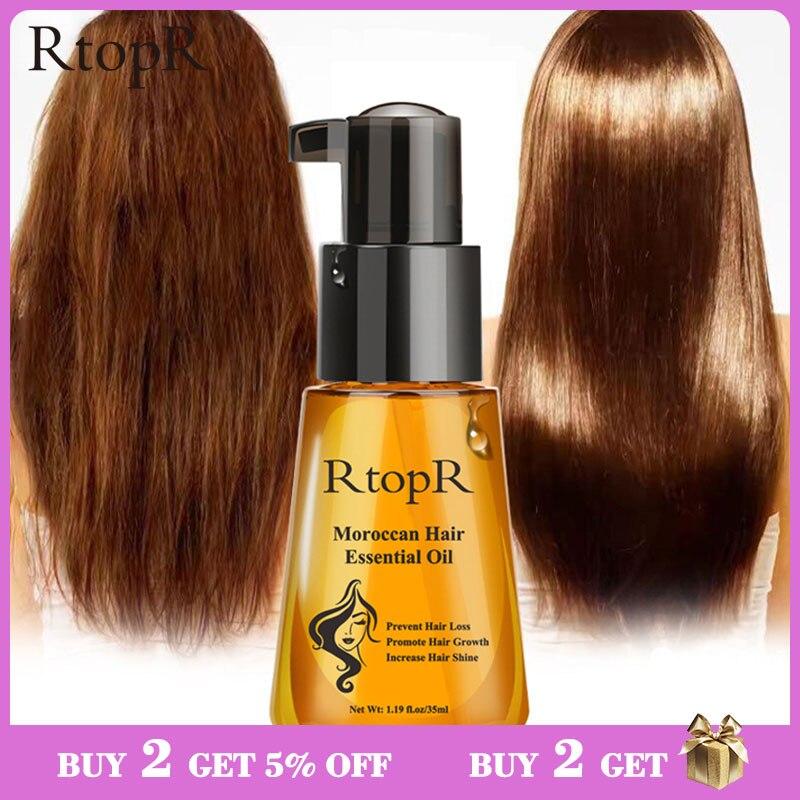 Марокканский продукт для предотвращения выпадения волос, эфирное масло для роста волос, легко носить с собой, уход за волосами, подходит для мужчин и женщин, 35 мл