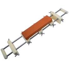 JEYL Kitchen Sink Whetstone Frame Grinding Stone Base Shelf Home Non-Slip Knife Sharpener Nylon Material 0.8Kg