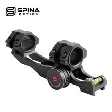 SPINA optical-montures de lunette, 30mm/25.4m, Rail ajustable, anneaux optiques, double lunette de fusil pour la chasse 5034