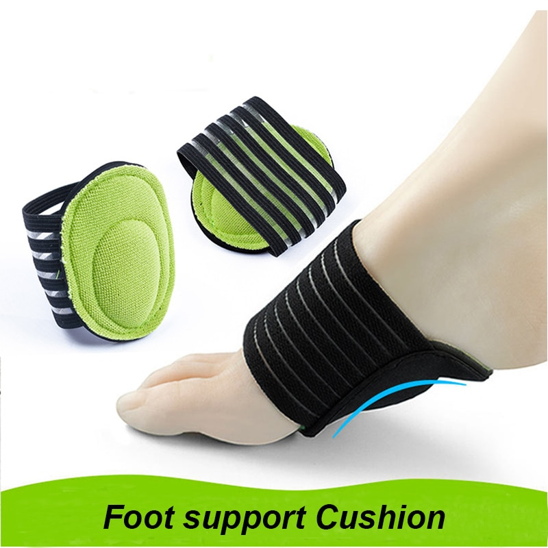 1pair Daily Reuse Foot Support Plantar Cushion Fasciitis Aid Pain Relief Fallen Arches Heel Walking Anti-fatigue Foot Care Tools
