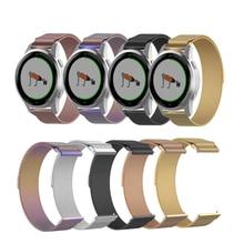 18mm 22mm Stainless Steel Watch Strap For Garmin vivoactive 4S Watchband For Garmin vivoactive 4 Bracelet Strap