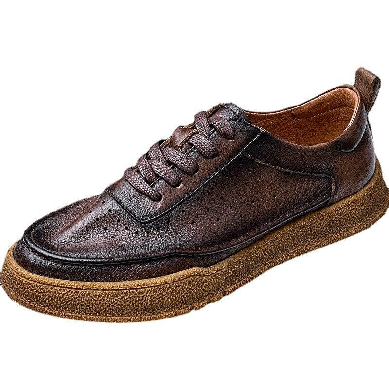 رجّالي أحذية مصممين جودة عالية حقيقي أحذية من الجلد رجال الأعمال حذاء رجالي, الكل مباراة جلد البقر ربيع الخريف الرجال فستان خفيف الأحذية