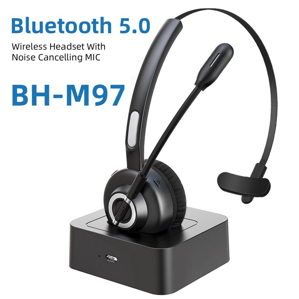 Mono Bluetooth auriculares inalámbricos con cancelación de ruido, centro de llamadas, auriculares voip para el controlador de oficina, diámetro, Versión Bluetooth, tipo de enchufe