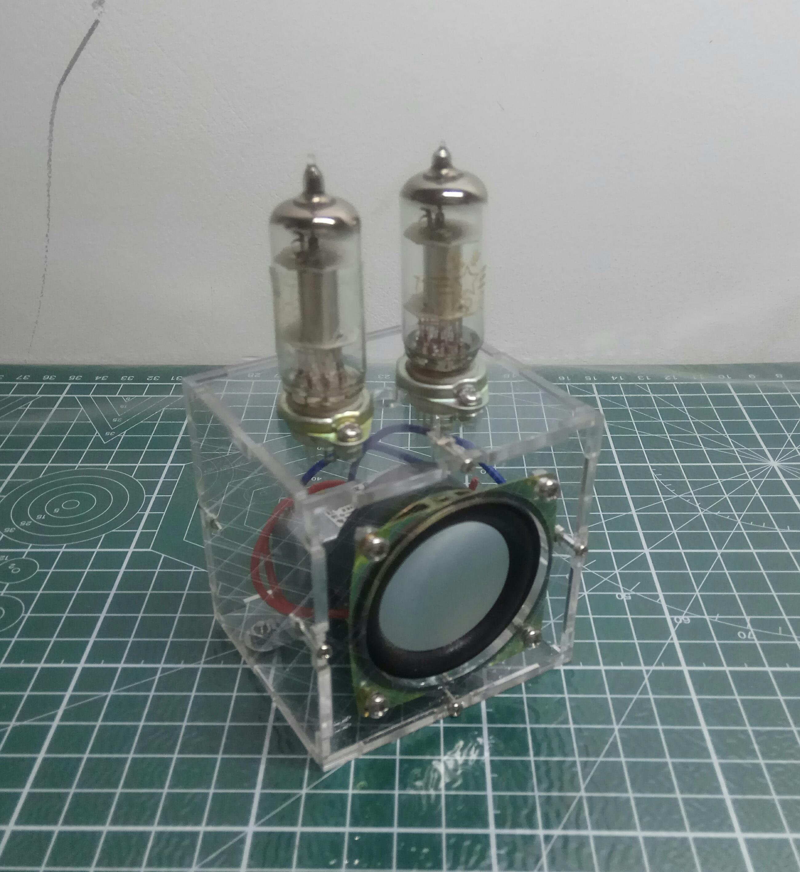 Tube Amplifier 1A2+2P2 Two-lamp DC DC Amp Single Lamp Amp Miniature Power Amplifier Tube Power Amplifier