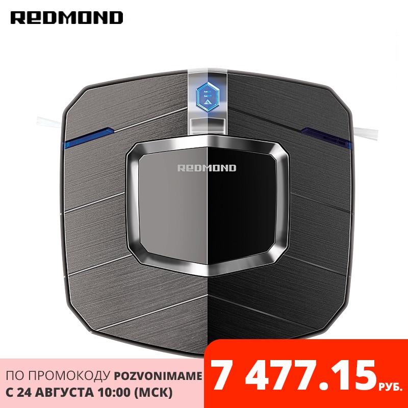 Robot aspirador REDMOND RV-R250 inalámbrico electrodomésticos para el hogar