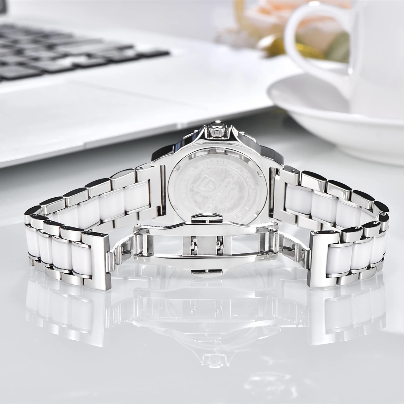 PAGANI DESIGN Women's Watches High Quality Ceramic Bracelet Women Watch Famous Luxury Brand Fashion Sport Clock Relogio Feminino enlarge