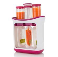 Récipient pour nouveau-né   Récipient pour les légumes et les jus de fruits frais, sac de rangement pour les fournitures de processeur daliments solides pour nouveau-nés