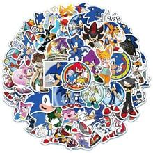 10/30/50/100PCS Pack Anime Sonic Game Stickers Kawaii Kpop Aesthetic Manga Graffiti for Car Laptop M