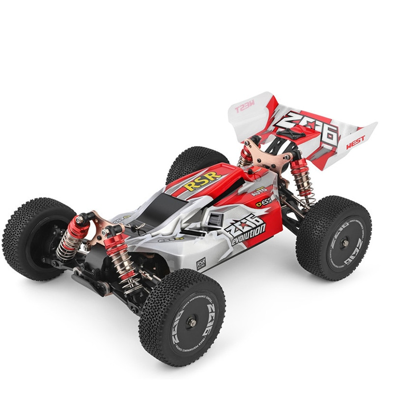 144001 RC Climbing Car Toys 1/14 Scale 2.4G 4WD Remote Control  60KM/H High Speed   Off-Road Vehicle Christmas Gift enlarge