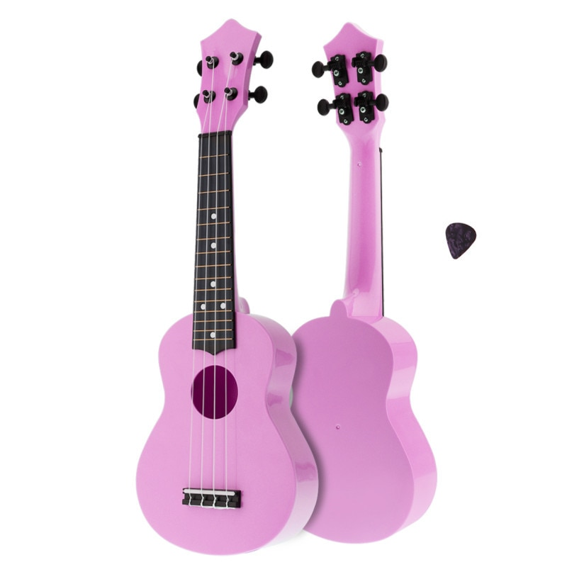 Ukulele Colorful Acoustic 21 Inch Soprano  4 Strings Hawaii Guitar Instrument for Children and Music Beginner enlarge
