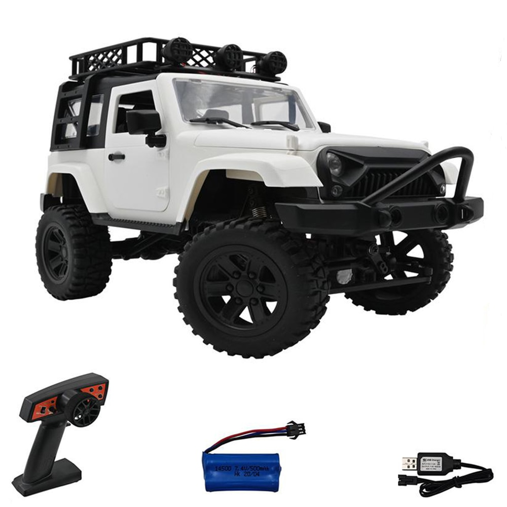 F3 1:14 4WD RC Car 2.4G Radio Control RC Car RTR Crawler Off-Road Buggy Vehicle Model with LED Light Trucks Toys For Kids Gifts enlarge