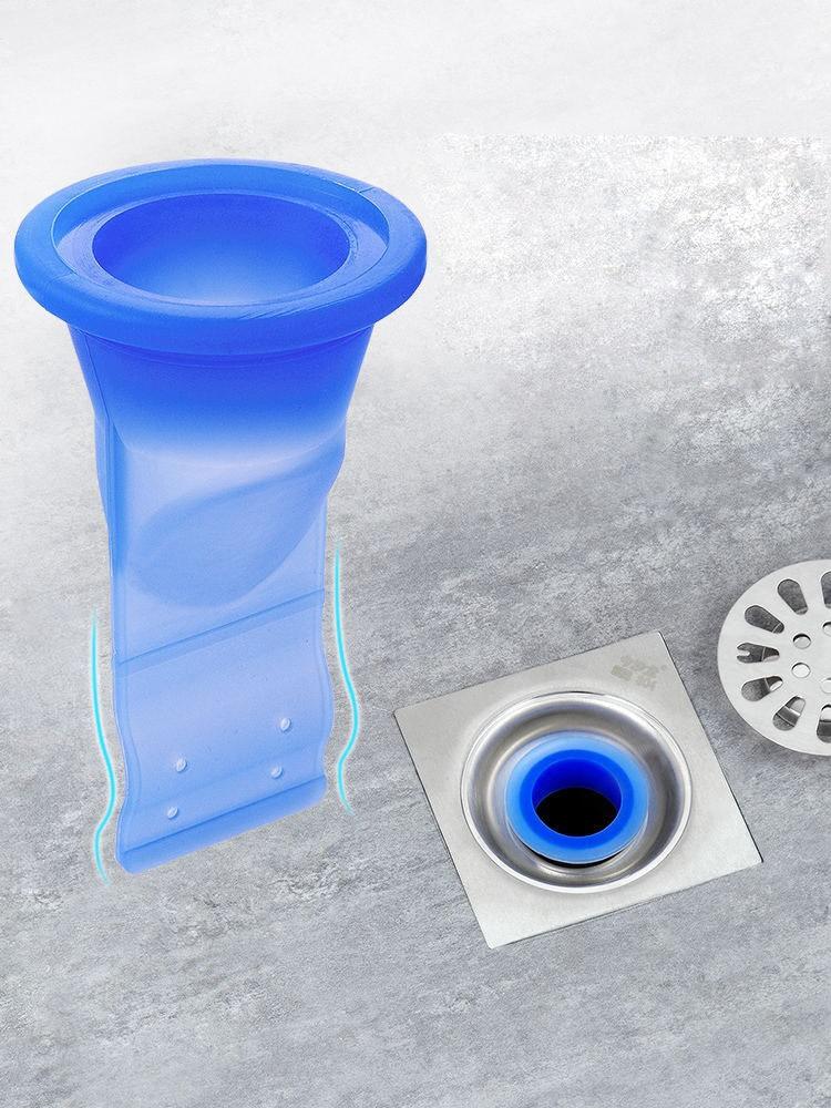 Ванная комната, не пропускают запах доказательство утечки сердечник с силиконовой вниз водопровод draininner core кухонные Ванная комната канали...