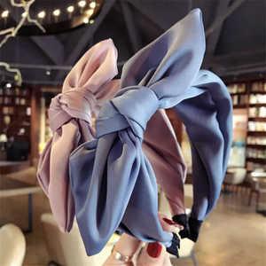 Popular Twist Bow Hoop Hair Headwrap Girls Knot Cross Women Headband Lady Headwear