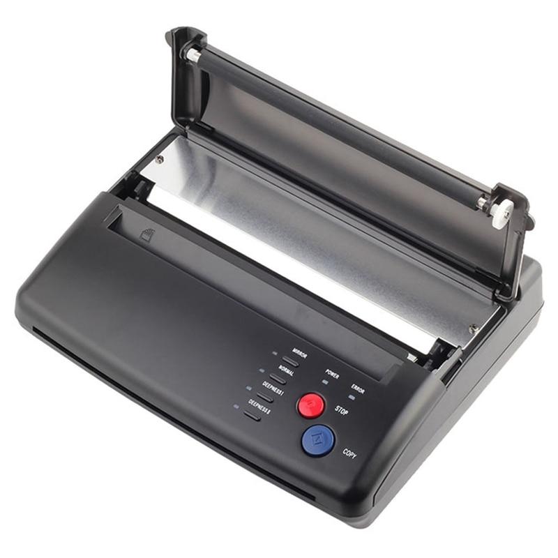 الولايات المتحدة التوصيل المهنية تاتو/وشم أسود اللون نقل آلة طابعة حرارية ناسخة